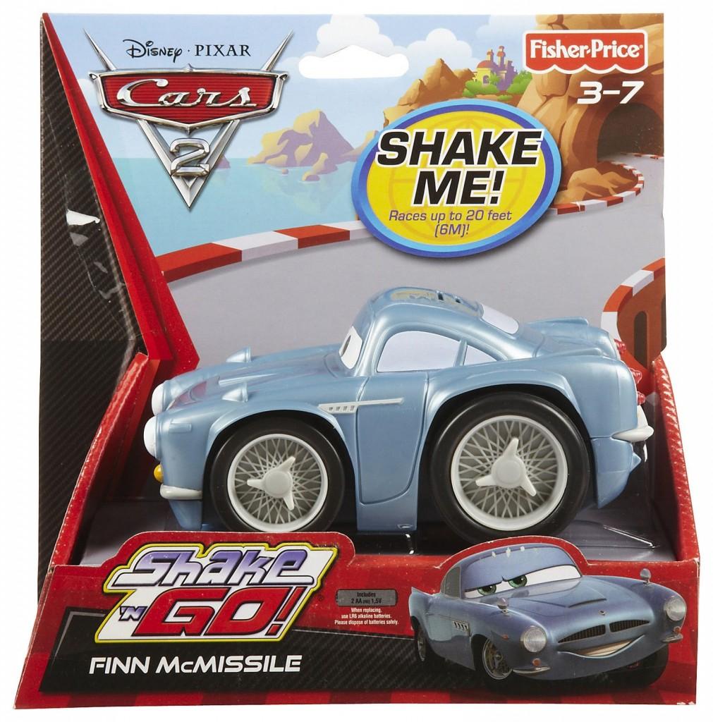 Disney Cars 2 Shake N Go! Finn McMissile